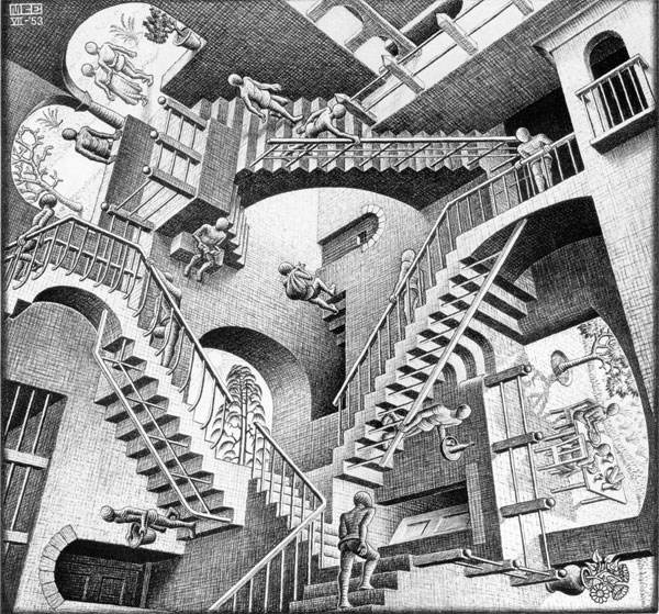 Perspectiva según Escher