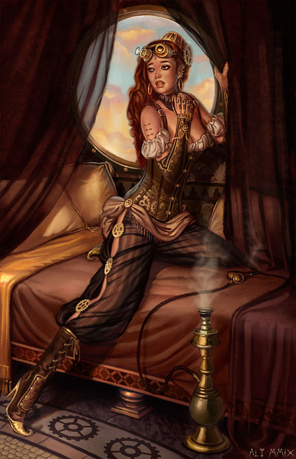 30 The Steampunk Harem By Aly Fell