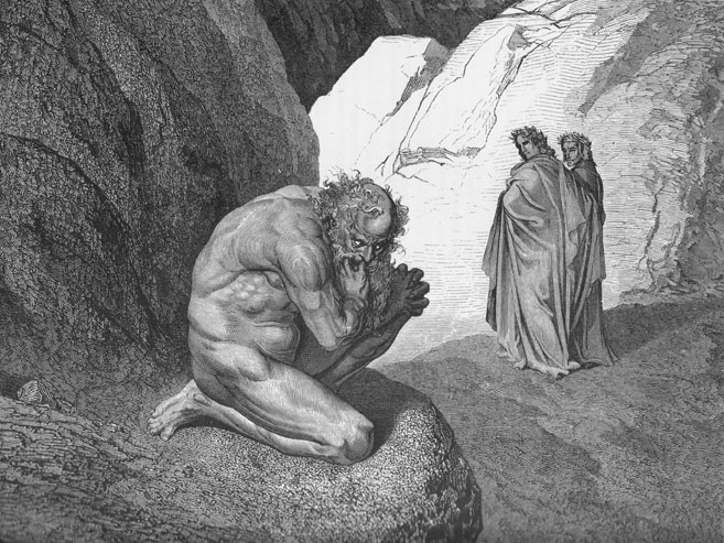 Plutus, by Gustave Dore